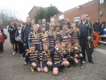 U10 winners of the Cheshire Bowl!