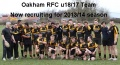 Oakham u18/17 team for 2013/14 season