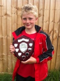 QWFC Player wins the first ever U9's GYAFL Player of the Year award! image