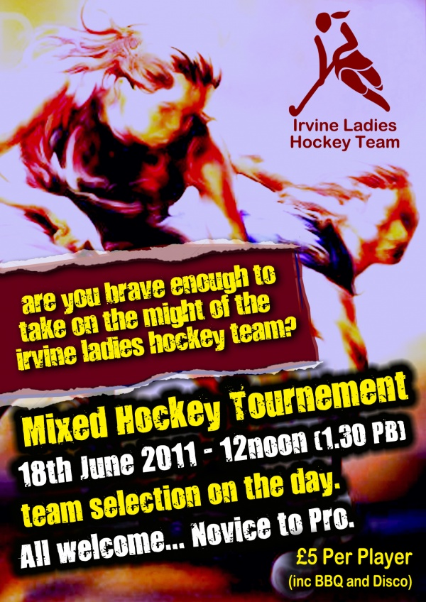 Open Mixed Hockey Tournament image