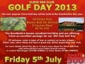 CLEVE GOLF DAY 2013