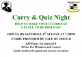 Westbury Rfc Curry & Quiz Night image