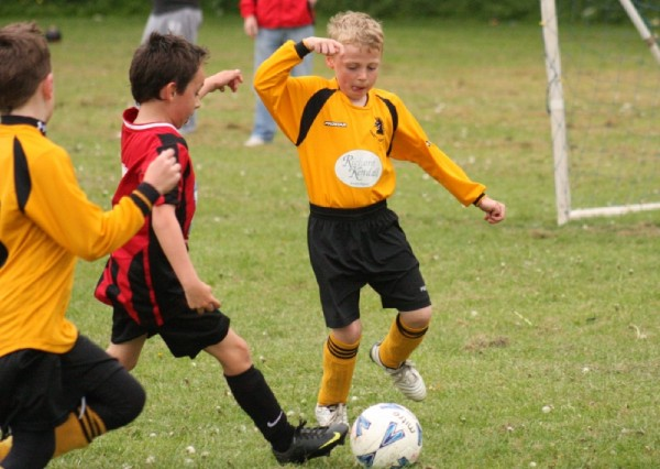Match Action: Ossett Albion U7 v Rothwell Juniors  image
