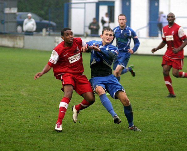 BLUES EDGED OUT BY ILKESTON image