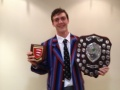 Skipper collects Essex President's Shield image