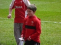 Newbridge U10s Player Kicks Conversion At The Millenium Stadium In Front Of 13,000 Welsh Fans image