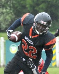 Bristol Aztecs American Football still