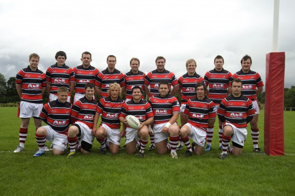 Back Row: James Coleman, Pat Hanslow, Simon Taylor, Matt Elston, Ed Stallard, Ken Stone, Tom Bozzard, Ben Broady, Tom James. 