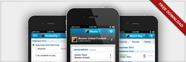Image: Pitchero Launches iPhone App