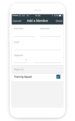 Adding a new member - Teams - Members - Manager App - User Guides