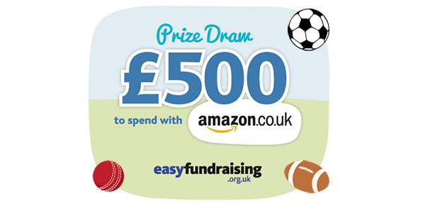 Image: Win £500 of Amazon vouchers with easyfundraising Spring giveaway