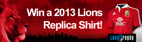 Image: Win a 2013 Lions Replica Shirt!