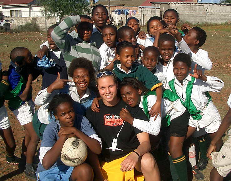 Image: STA Travel and Sports Volunteering Abroad