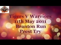 Vs Myton 11th May 2013 - Prest Try still