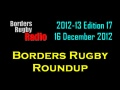 BORDERS RUGBY ROUNDUP EDITION 17 - 16.12.12 still