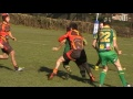 Scott Gledhill try St Joes U17s v Sheffield 17/02/13 still