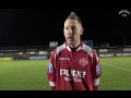 Jamie Day Eastleigh Away 1/12/2012 still