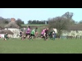 2nd half tries from U15s Datchworth Cup match still