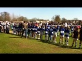 1st XV vs. OE Guard of Honour still