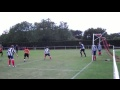 Marc Hughes scores against Malmesbury Victoria still