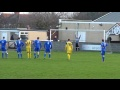 Leigh Herrick Penalty Save : Winterton v Tadcaster 12/01/2013 still