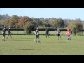 James Williams' first goal v Theale 11.11.12 still