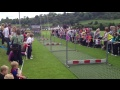 Pig Racing at Larne Rugby Club still