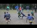 Slough U8 - Malachi scoring a try at Redingensians still