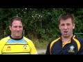 Shane Rampling & Andy Lake on Kippax Knights v Cents still