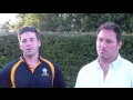 Shane Rampling & Andy Lake on Cents v Nottingham Outlaws still