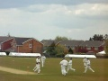 Reeve's wicket v Tonge still