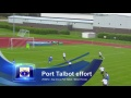 Gap CQ vs Port Talbot Town - 24/08/12 - Welsh Premier League still