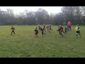 U8 try v Derby still