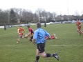 Sedgley v Cambridge, Tom Leader going over for a try still