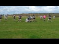 Ryan England's try against Brockworth RFC by P Narain still