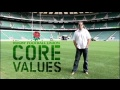 Rugby Core Values still