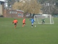 Matty Kent's equaliser v Middleton Rangers 24th March 2013 still
