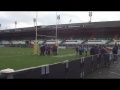 U10's Visit Welford Road still