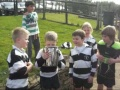 U8s & U10s Celebrate Cup Success still
