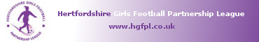 Hertfordshire Girls Football Partnership League