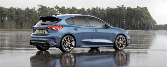 Small blue car