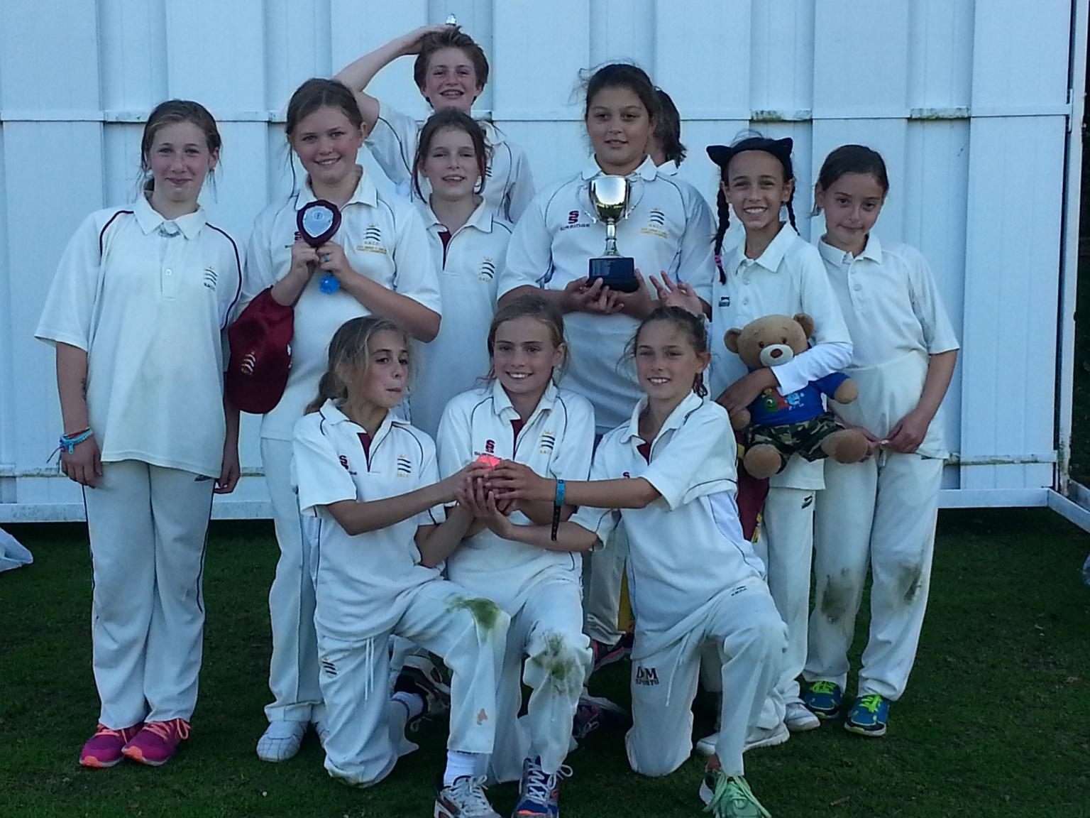 The winning team!