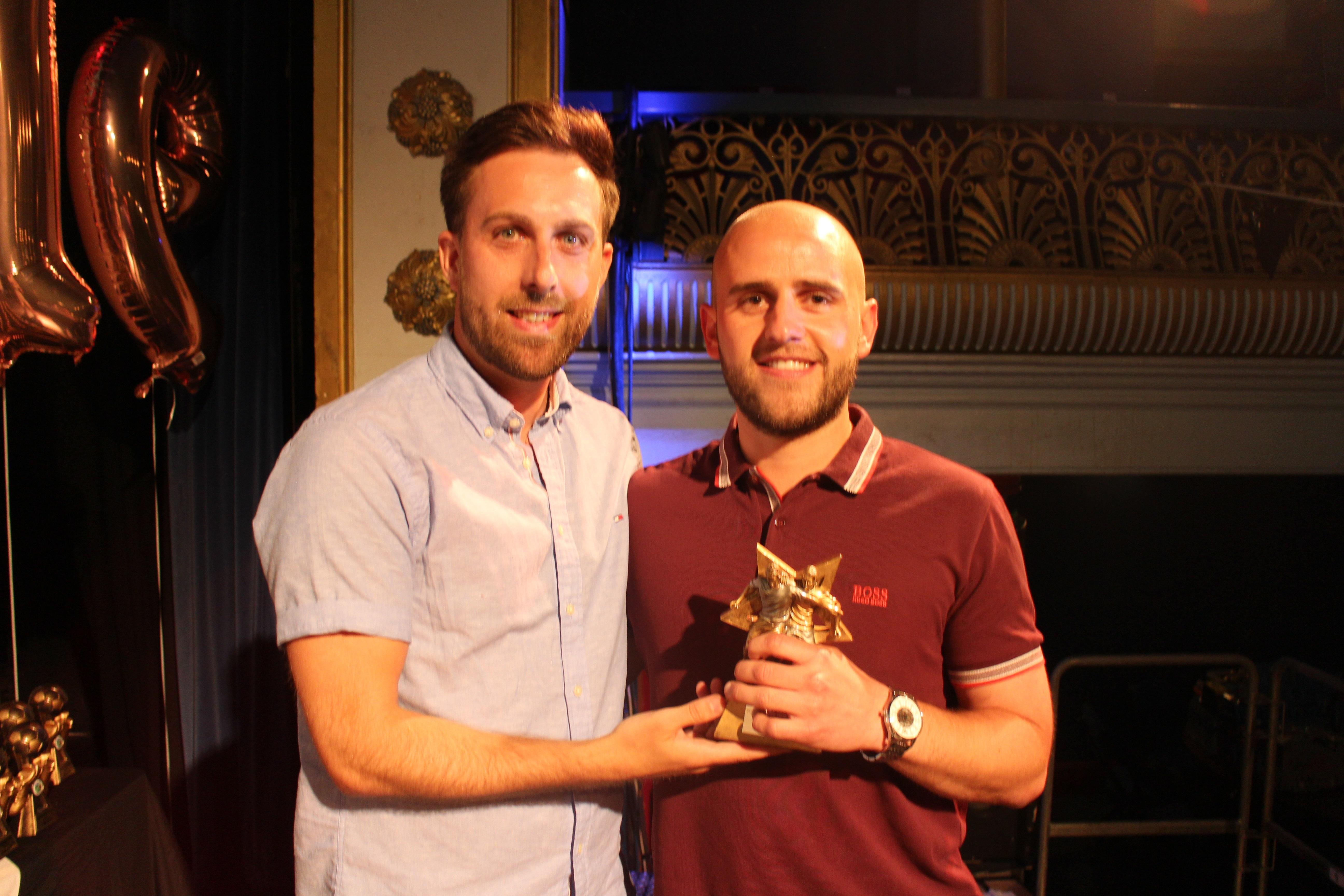 "First Team Players Player of the Year : Craig ""Bunji"" Davies"
