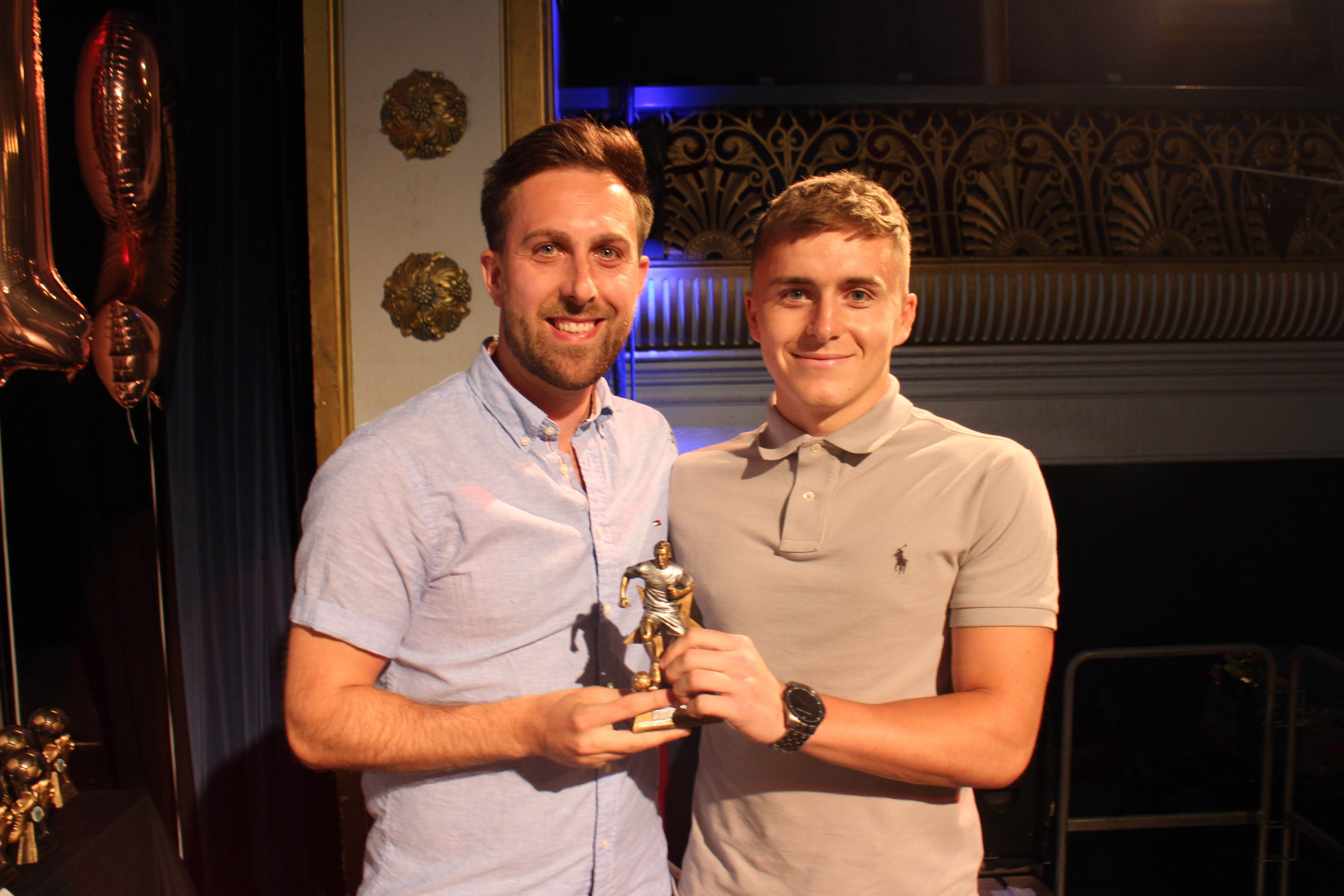 Supporters Player of the Year : Kurtis Rees
