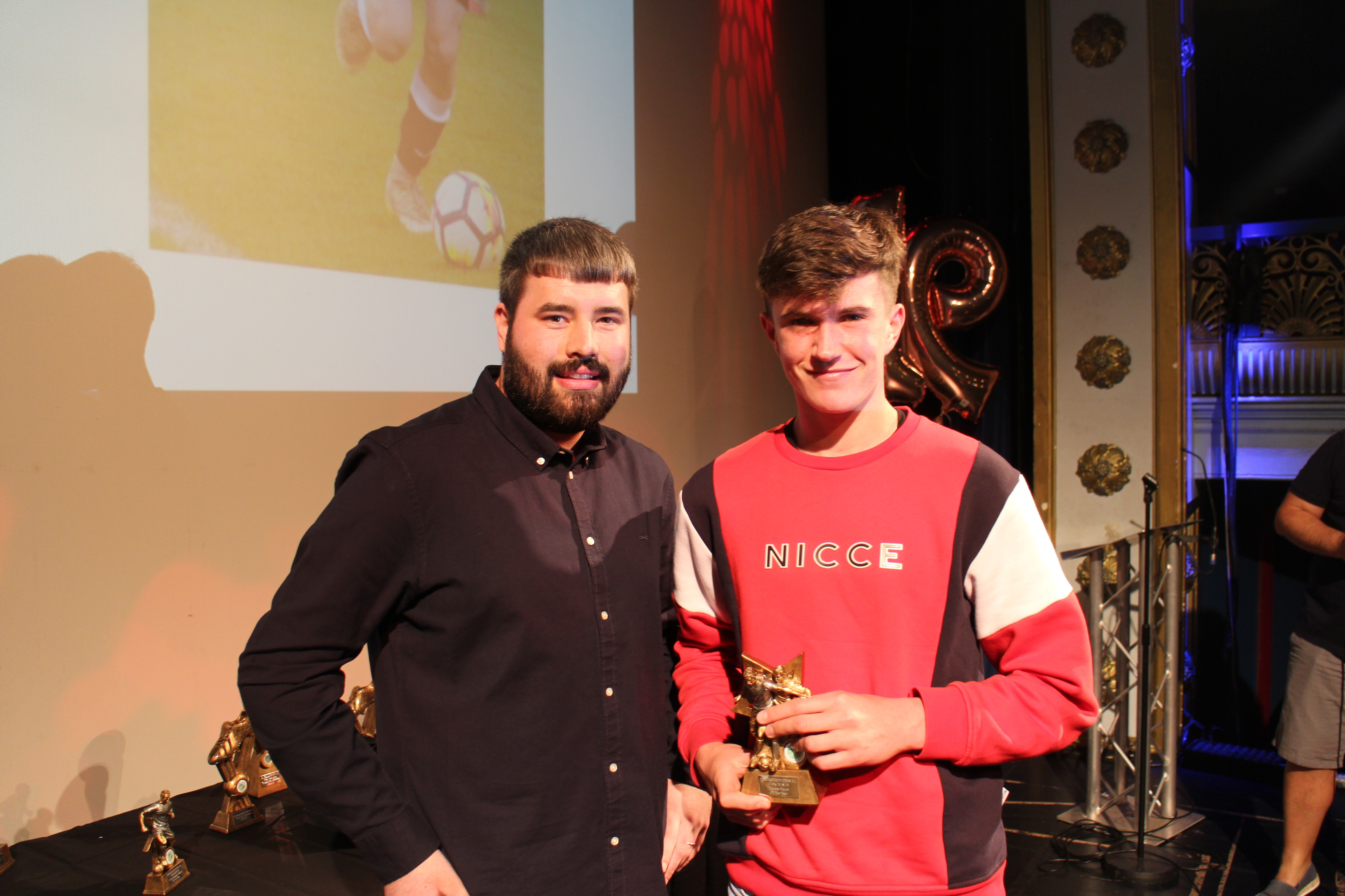 Under 19s Players Player of the Year : Callum Dolman