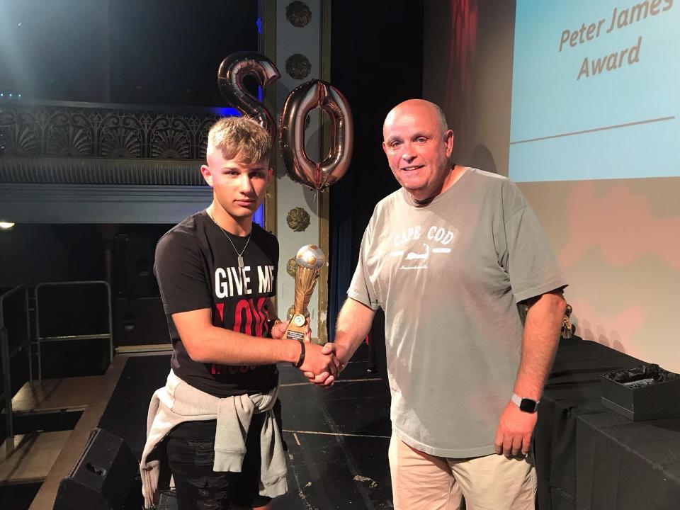 Peter James Trophy Winner : Oliver Schofield
