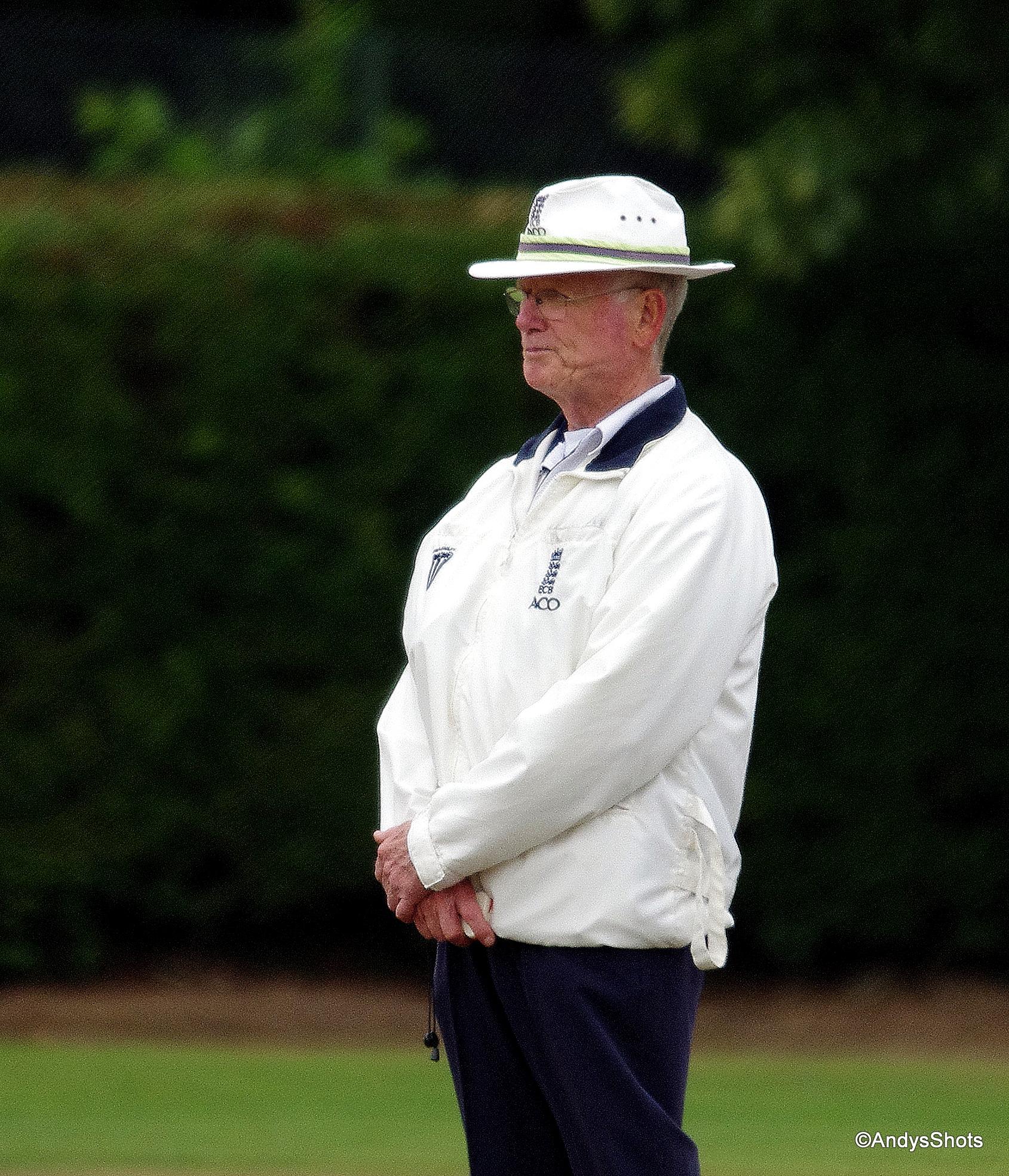 Geoff Burton 2nd XI Umpire 2013