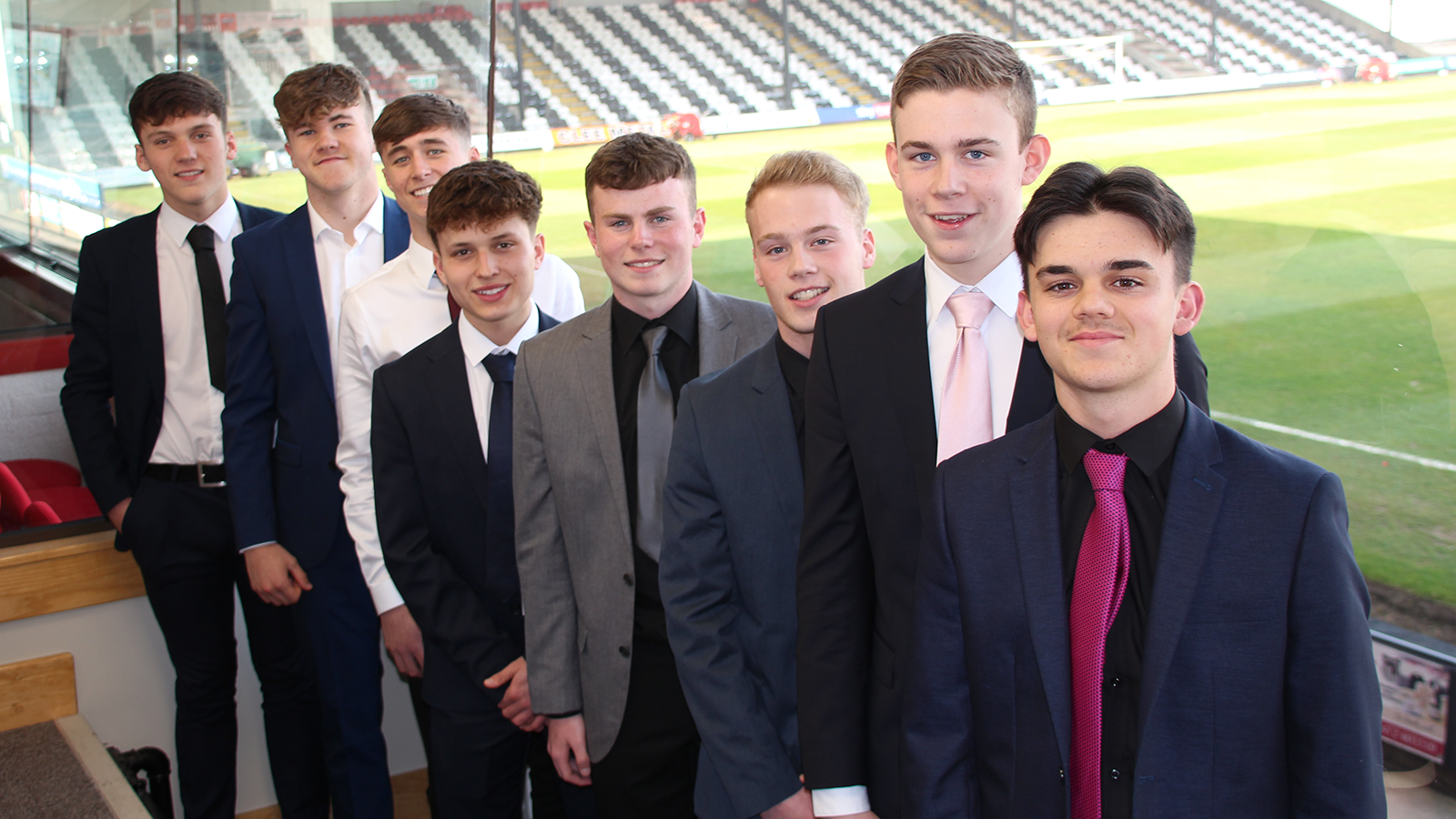Grimsby Town youth team new starters 2019-20. Image credits: Anne Boyers.