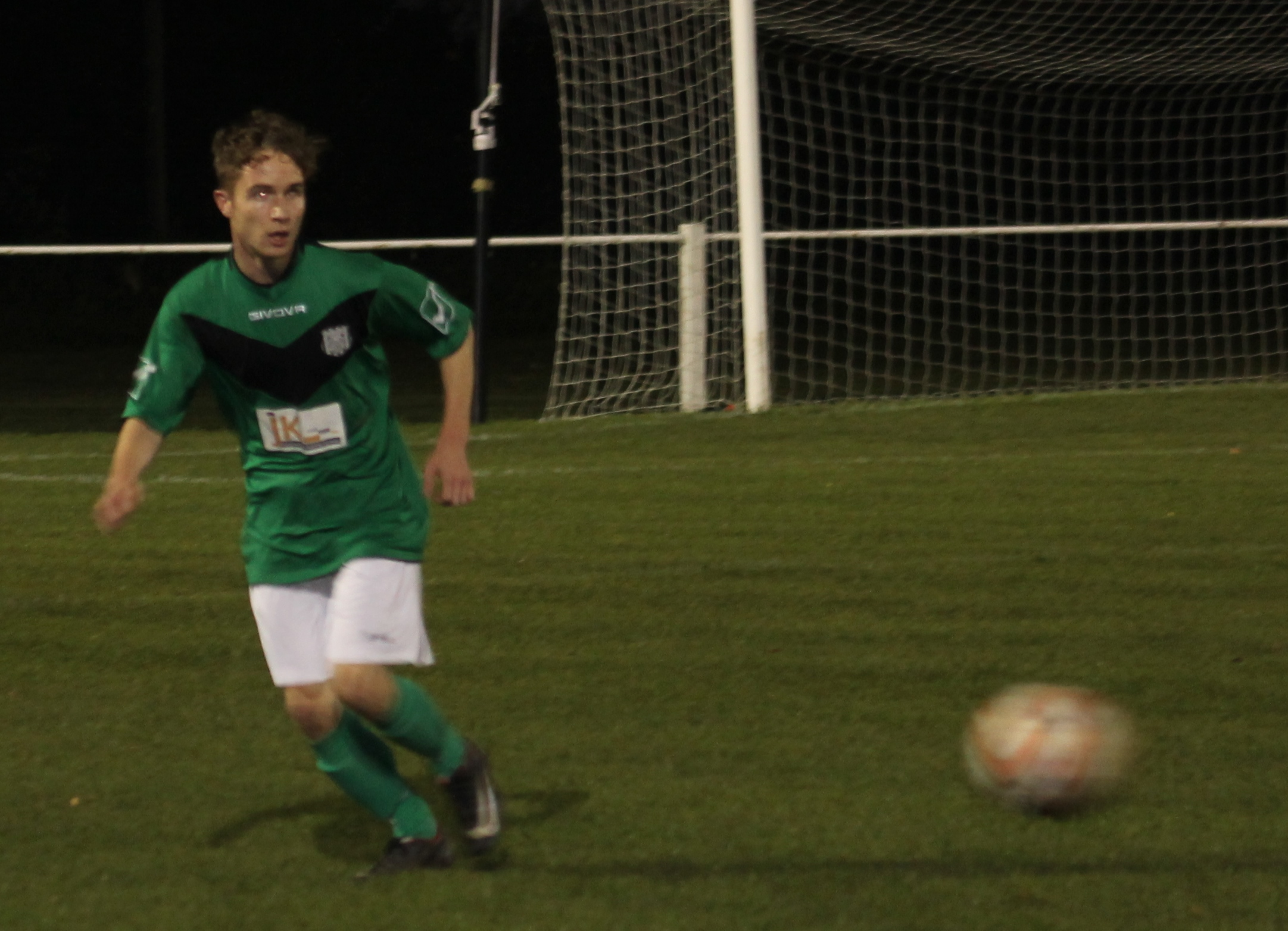 Charlie Dolling in action for Brigg Town.