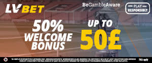 LV Bet - NEW SPORTS WELCOME OFFER